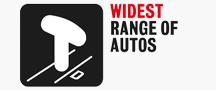 Widest Range Of Autos