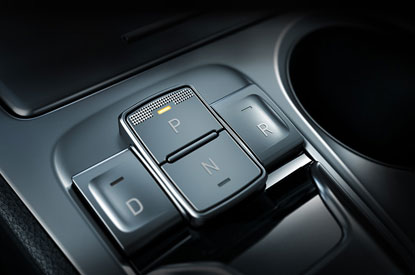 Button type shift-by-wire