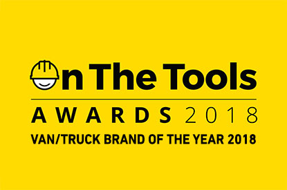 On the Tools Van/Truck Brand of the Year 2018