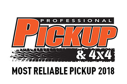 Professional Pickup & 4x4 Most Reliable Pickup 2018