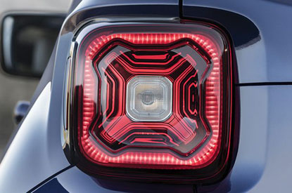 Exclusive X icon tail-lights
