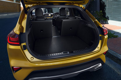 Folding Seats and Boot Space