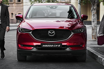 New Mazda CX-5 - Longer and lower